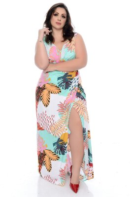 Vestido Plus Size Ciele