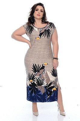 Vestido Plus Size Echiley