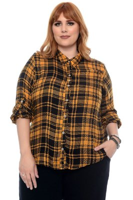 Camisa Plus Size Zenate