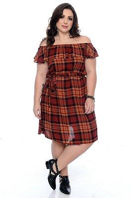 Vestido Plus Size Agnna