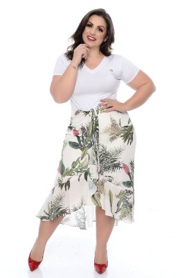Saia Plus Size Monnie