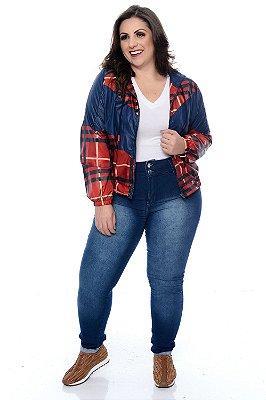 Calça Jeans Jegging Plus Size Lonita