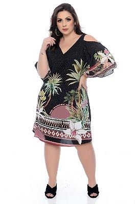 Vestido Plus Size Keuny