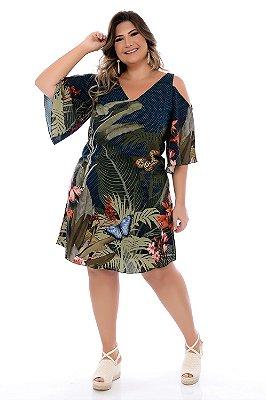 Vestido Plus Size Valma