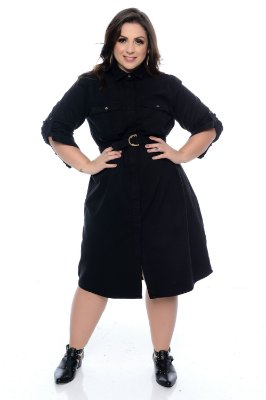 Vestido Plus Size Edlane