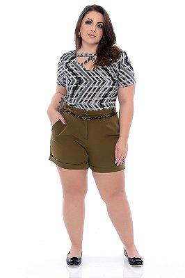 Blusa Plus Size Gelse