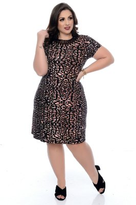 Vestido Plus Size Peonia