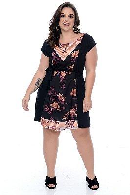 Vestido Plus Size Orquidea