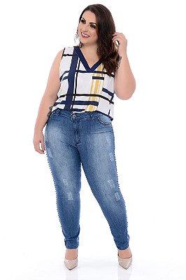 Blusa Plus Size Odaisa