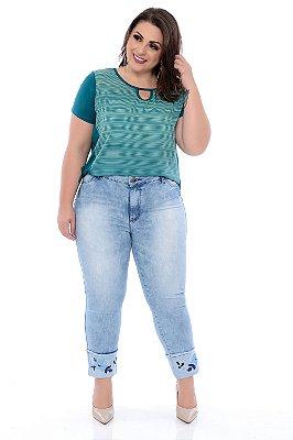 Blusa Plus Size Cefyra