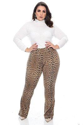 Calça Legging Flare Plus Size Zitha