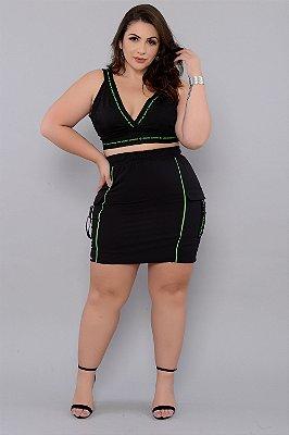 Saia Plus Size Daksha
