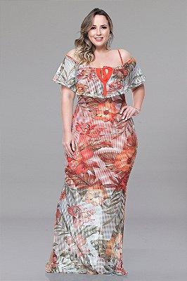 Vestido Longo Plus Size Lucyana