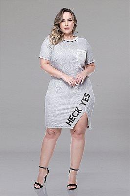 Vestido Plus Size Naielly