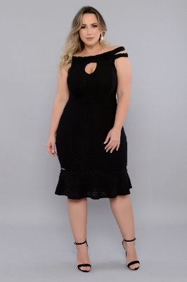 Vestido Plus Size Rafaella