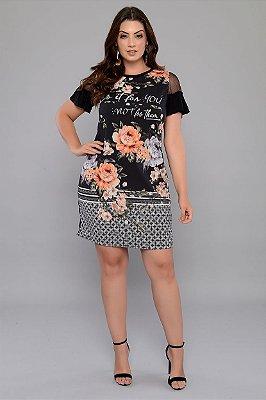 Vestido Plus Size Selmy
