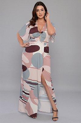 Vestido Longo Plus Size Wioletta
