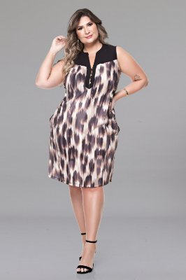 Vestido Plus Size Anesha
