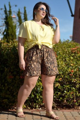 Blusa Plus Size Bogarim