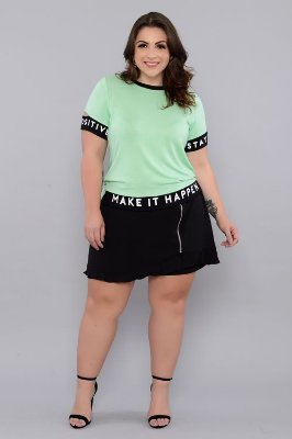 Shorts Saia Plus Size Begonia