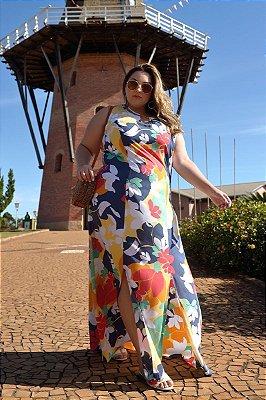 Vestido Longo Plus Size Amarilis