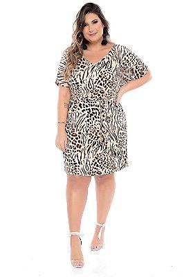 Vestido Plus Size Gerbera