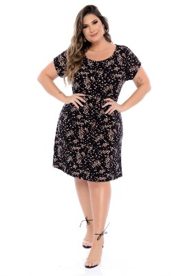 Vestido Plus Size Cartanus