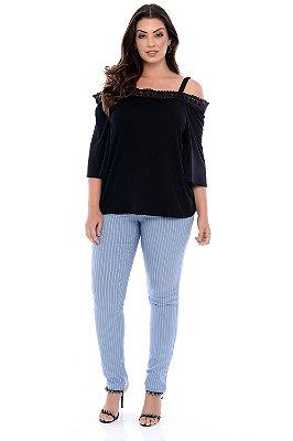Blusa Plus Size Girassol