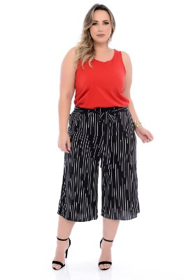 Regata Plus Size Cravo
