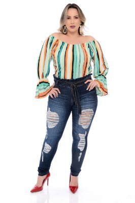 Calça  Jeans Plus Size Graça