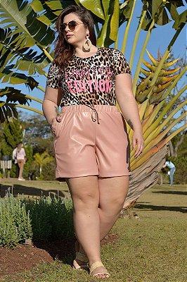 Blusa Plus Size Veludo