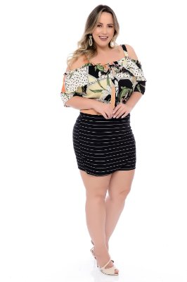 Shorts Saia Plus Size Elana