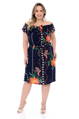 Vestido Plus Size Eliza