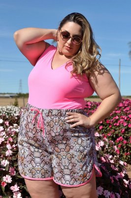 Shorts Plus Size Anis