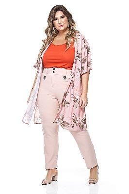 Colete Kimono Plus Size Alpina