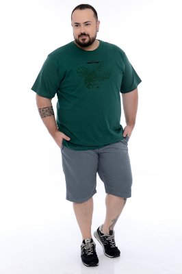Bermuda Sarja Plus Size Alec
