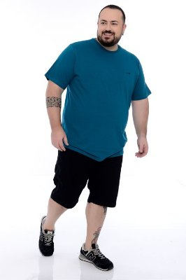 Camiseta Basica Plus Size Amauri