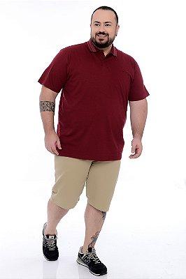 Camiseta Polo Plus Size Devon