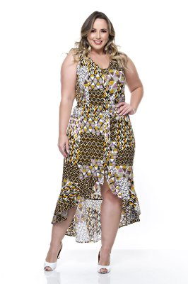 Vestido Plus Size Kailah