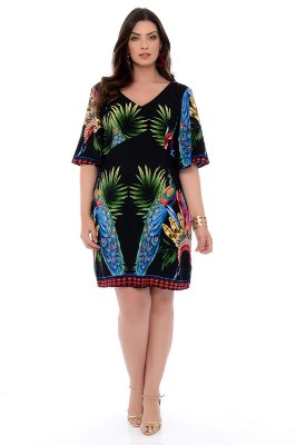 Vestido Plus Size Kaley
