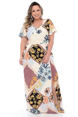 Vestido Longo Plus Size Kahlea