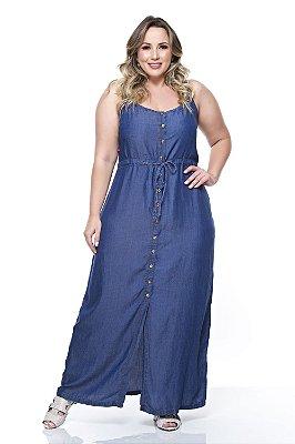 Vestido Longo Plus Size Keirah
