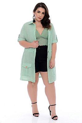 Shorts Linho Plus Size Lillah