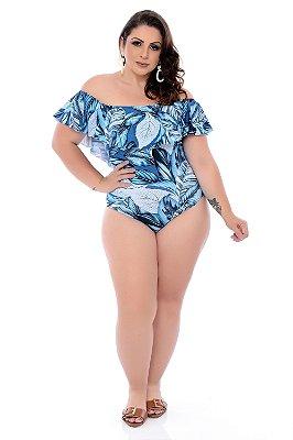Maiô Ciganinha Plus Size Lanaya