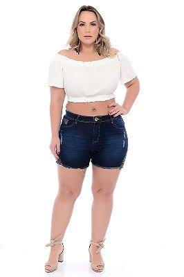 Shorts Jeans Plus Size Leasy