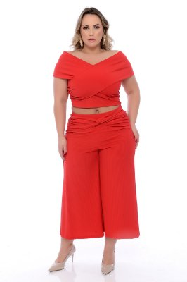 Blusa Top Plus Size Rhylie
