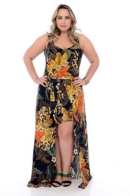 Vestido Longo Plus Size Harriet