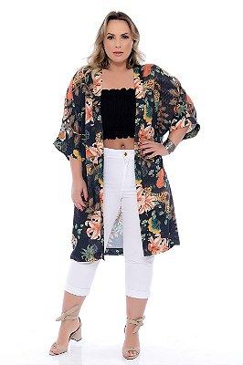 Kimono Plus Size Rosebel