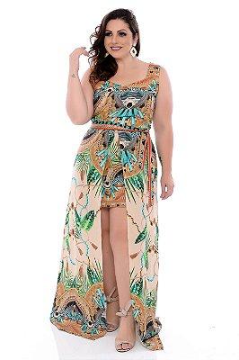 Vestido Longo Plus Size Rania