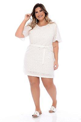 Vestido Lese Plus Size Rosie